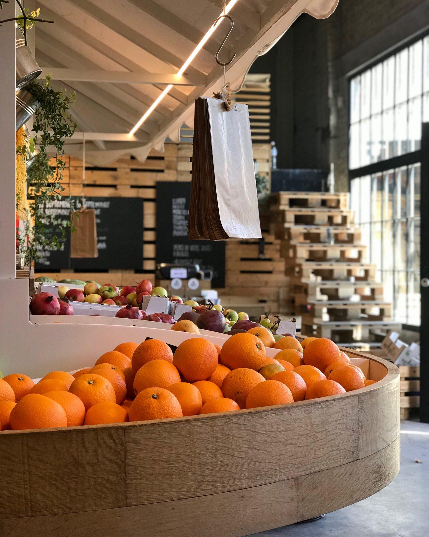 Marché Saint Jean - Oranges
